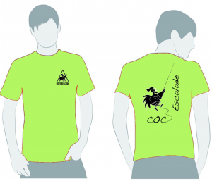 T-Shirt COC Escalade 2013